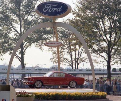 1964 NY Worlds Fair Mustang