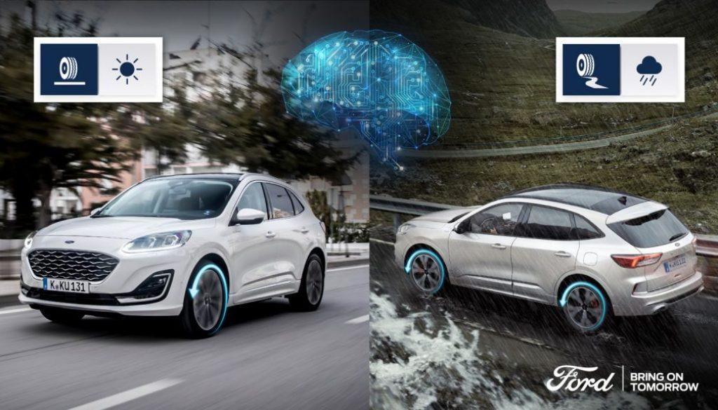 Intelligent All-Wheel Drive Ford Kuga