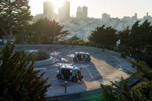 Zoox Autonomous Vehicle - parcheggio