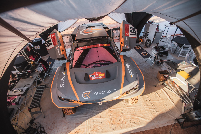 Dakar green veicolo GCK e-Blast 1