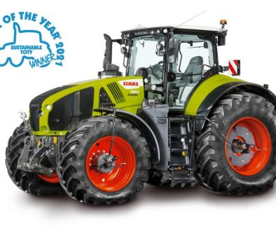 Tractor of The Year 2021 Claas