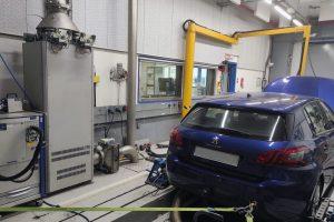 prova motori automobile EMC-BAR