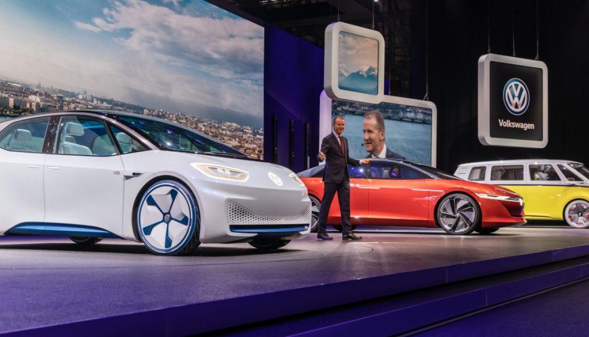 Matti Blume - Herbert Diess presents the ID lineup, Geneva International Motor Show 2018 (wikipedia)