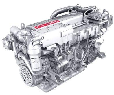 motore marino Cursor 90 170 stage V